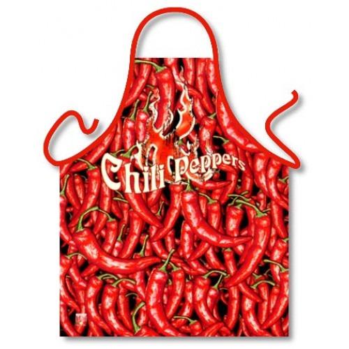 Rød Stærk Chili Peper Forklæde -