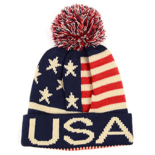 USA Top Hue med Kvast