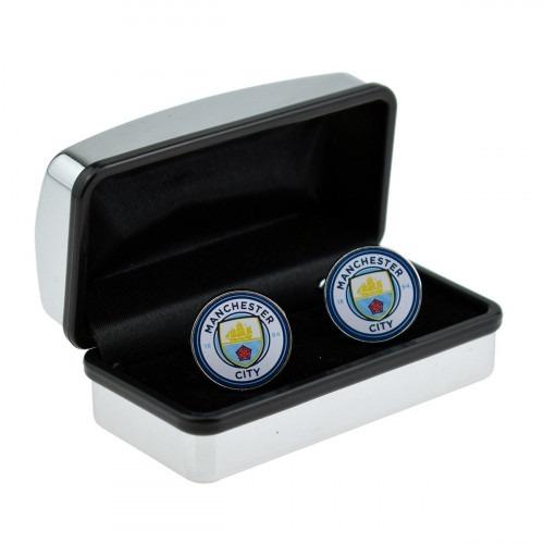 Manchester City Manchetknapper i Æske
