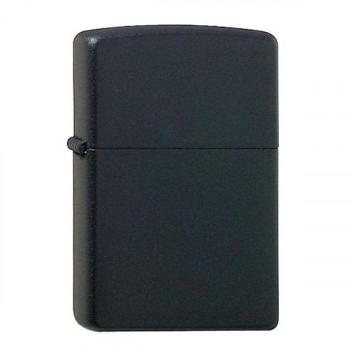 Ægte Zippo Lighter Black Matt