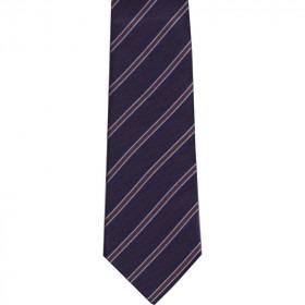 ekstra langt blåt slips