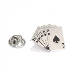 Pin Royal Flush Hand Cards