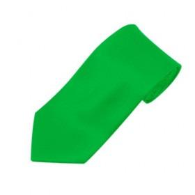 Smalt Neon Grønt Mode Slips