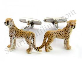 Leopard Manchetknapper