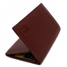 Møkrebrun RFID Læder Tegnebog