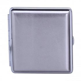 Sølv Metallic Cigaret Etui med plads til 20 prince