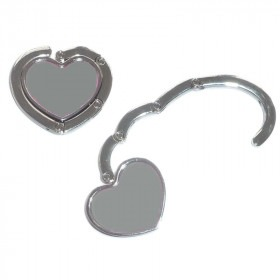 Heart Shaped Ladies Handbag Hanger