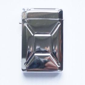 Champ Jerry Can Cigaretetui Poleret Sølv