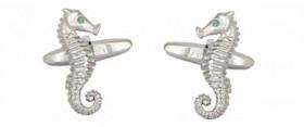 Sea Horse Cuff Links