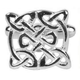 Manchetknapper Keltisk Design Sølv
