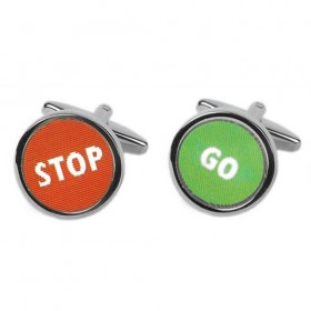 Manchetknapper Stop / Go