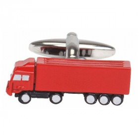 Manchetknap Rød Truck