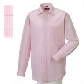 Skjorte 39/40 Prince of Wales Check Pink