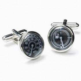 Manchetknapper Speedometer og Benzinmåler