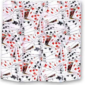 Foulard Playing Cards