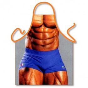 Sjovt Bodybuilder Forklæde
