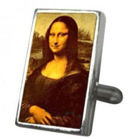 3D Manchet Knapper Mona Lisa