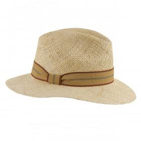 MJM Bilbao Panama Strå Hat - Natural