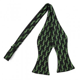 Croc/Gator Freestyle Bow Tie