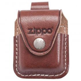 Brun Zippo Læder Pung