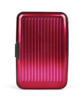 Card-Guard Kortholder - Rød Aluminium