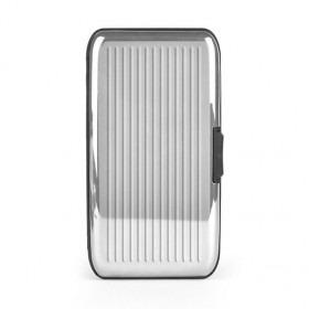 Card-Guard Tegnebog Kortholder - Sølv Aluminium