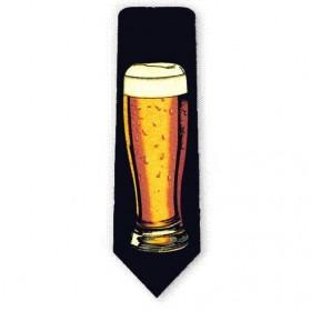 Sort Slips med Øl Glas