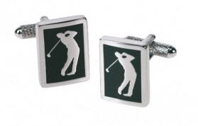 Golf Manchetknapper Grønne