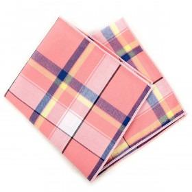 Pink Ternet Pyntelommetørklæde
