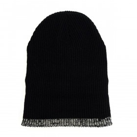 Sort Heavy Duty Vinter Beanie