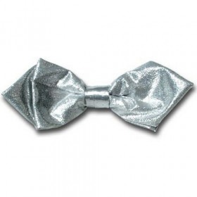Butterfly Ensfarvet Sølv Metallic Spids