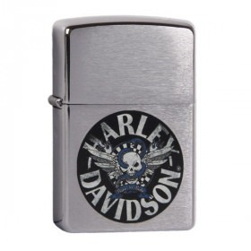 Ægte Zippo Lighter Harley Davidson Born to Ride