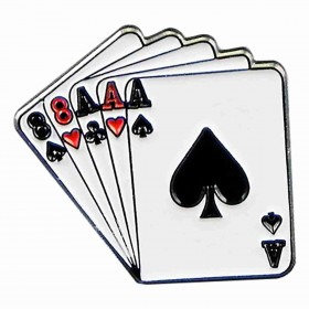 hatte pin poker full house cards