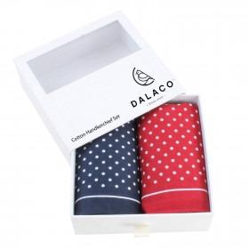 Dalaco Spot Mønstrede Lommetørklæder