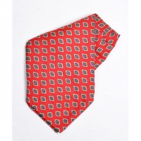 Rød Silke Ascot