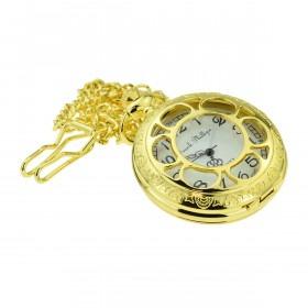 Guld Lommeur Antik Look med Kæde