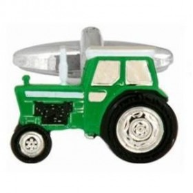 Manchetknapper Grøn Traktor