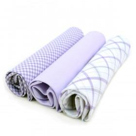 3 bomulds lommetørklæder til herrer