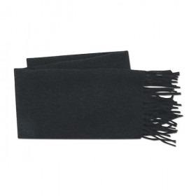 Mørkegråt Uld Halstørklæde