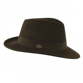 MJM Loden Uld Filt Hat - Waterproof & Crushable