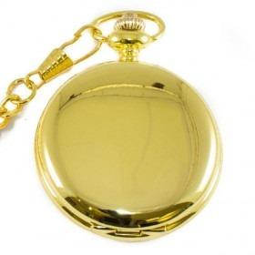 Guld Lommeur med Kæde