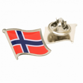 Revers Pin Norske Flag