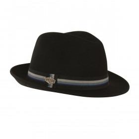 MJM Oscar Uld Filt Hat - Sort