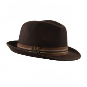 MJM Oscar Uld Filt Hat - Brun