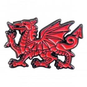 Rød Wales Drage