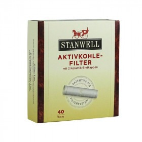 40 stk Stanwell 9 mm patenteret pibe filter