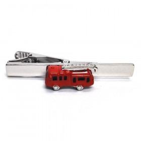 Rød Brandbil Slipsenål
