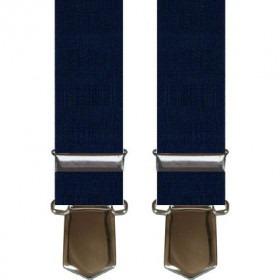 Brede Navy Blå Herre Seler med Clips