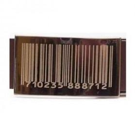 Bælte Barcode Brunt Læder - Flere længder
