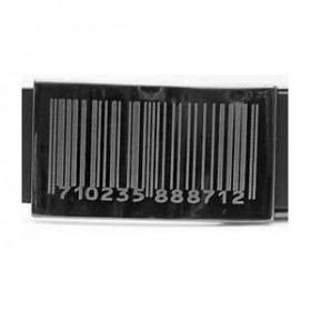 Bælte Barcode Sort Læder - Flere længder